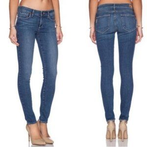 Paige Verdugo Ankle Medium Wash Skinny Jeans